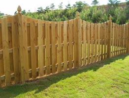 wood fences for yards